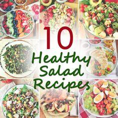 10 Healthy Salad Recipes, Lauren Conrad