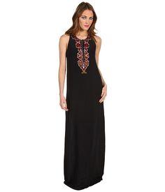 Winter Kate Nisha Maxi Dress Black - 6pm.com