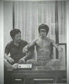 Bruce Lee and Wong Shun Leung | Rhodes Wing Chun Kung Fu | http://rhodeswingchunkungfu.weebly.com | rhodes.wing.chun@gmail.com