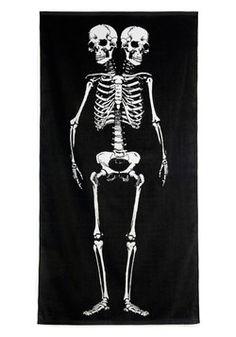 Want it. Want it!  $24.99-Biological Reasoning Bath Towel-ModCloth