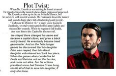 This makes MUCH more sense than the twist with Snow being Katniss' dad.