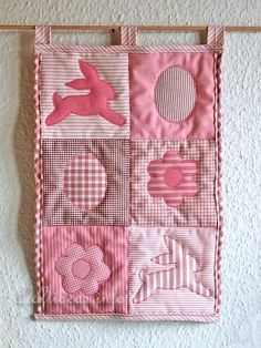 Patchwork Craft for Easter - Easter Quilt or Wall Hanging