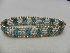 Super Duo Bracelet Patterns | Super Duo beaded bracelet | Jewelry inspirations | Pinterest