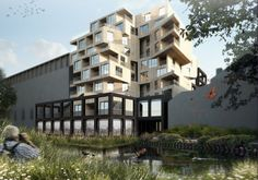 Holz-Hochhaus für London-Hackney / Wohnen im Feigenbaum