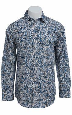 Panhandle Slim® Men's L/S Western Snap Shirt 30S7967