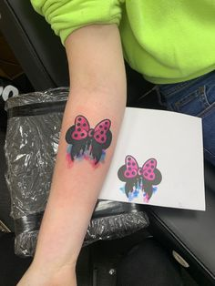 Watercolor tattoo Disney Tattoos, Print Tattoos, Watercolor Tattoo, Disney Inspired Tattoos, Watercolor Tattoos, Water Color Tattoos