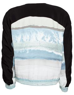 Dagmar Florence Woven BOMBER Jacket Print