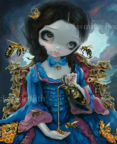 Queen of Bees by Jasmine Becket-Griffith