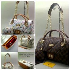 LV rantai 13887 set pouch super uk.31x11x20 - 240rb