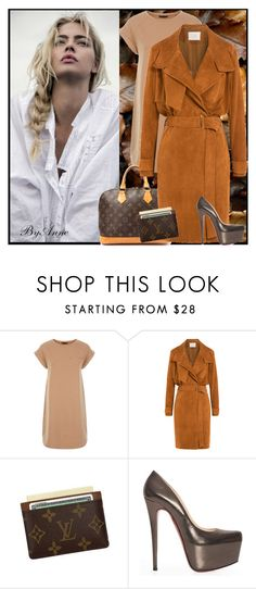"""""""Sunday !"""" by anne-977 ❤ liked on Polyvore featuring Louis Vuitton, IRO, Christian Louboutin and fall2015"""