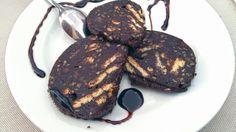 Salame di cioccolato, nocino e canditi Ricetta top http://winedharma.com/it/dharmag/aprile-2015/salame-di-cioccolato-la-ricetta-perfetta