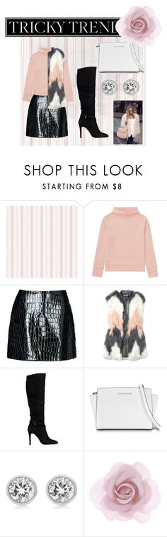 """Pale Pink"" by royalsavage ❤ liked on Polyvore featuring Uniqlo, Jolie By Edward Spiers, Rebecca Taylor, GUESS, Michael Kors, Accessorize, women's clothing, women's fashion, women and female"