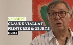 Vernissage de l'exposition de Claude Viallat au musée de Louviers http://louvierswebtv.wmaker.tv/Claude-Viallat-au-musee_v100.html