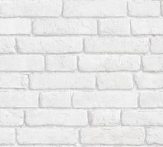 White brick wallpaper by Koziel Made in France 22€/roll