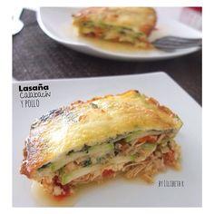 lilibethr Mi gente esta es una cena perfecta, ya les habia dado esta receta pero se las vuelvo a publicar  Aquí esta maravilla, super ligera y es una delicia. les recomiendo que preparen el pollo guisado un día antes y así estará mas compacto para armar la lasaña. la puedes hacer con calabacín Read more at http://websta.me/liked#ObXwOAoXS3LLqYOk.99