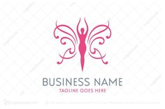 Logo for sale: Beauty Butterfly Logo. Unique beauty butterfly logo. The symbol itself will looks nice as social media avatar and website or mobile icon. Spa feminine female women body makeup cosmetics figure cosmetic logo logos buy purchase sell on sale sold product business brand design graphic unique recognized professional software apps app applications application fragrance perfume saloon lingerie antiaging loreal lotion cream apparel jewelry jewel