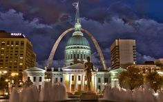 St. Louis, Missouri! I miss the city so much! Loved it there!! Yeah i guess i am a city girl not a country girl