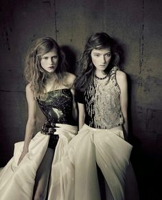 Photographed by Paolo Roversi for Vogue Italia Alta Moda Sept 2014