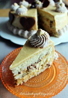 La torta più buona del mondo……storia di magia   Dolci in Boutique Just Desserts, Delicious Desserts, Sweet Recipes, Cake Recipes, Torte Cake, Icebox Cake, Dessert Decoration, Sweets Cake, Bakery Cakes