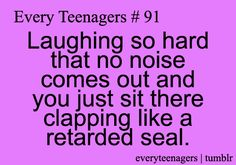 Every Teenagers #91 -- I do this all the time.