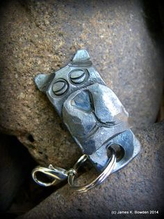 Dog Key Chain forged by James K. Bowden