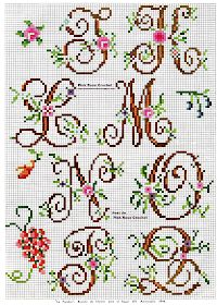 Thrilling Designing Your Own Cross Stitch Embroidery Patterns Ideas. Exhilarating Designing Your Own Cross Stitch Embroidery Patterns Ideas. Cross Stitch Letters, Beaded Cross Stitch, Cross Stitch Baby, Cross Stitch Charts, Cross Stitch Designs, Cross Stitch Embroidery, Stitch Patterns, Embroidery Patterns, Crochet Letters