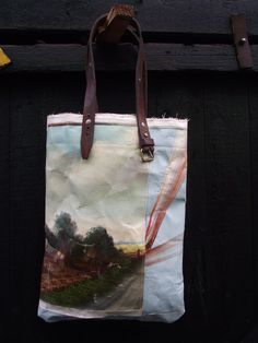 Image of Painting Bag - Abstract Landscape (free shipping)