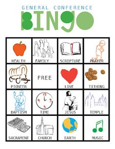 1000 images about general conference on pinterest general conference bingo and happily ever. Black Bedroom Furniture Sets. Home Design Ideas