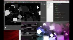 GPU realtime post processing with OpenFrameworks and Cinema 4D on Vimeo