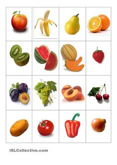 """und Gemüse - Memory Obst und Gemüse - MemoryObst Obst is a German language surname, which means """"fruit"""". It may refer to: Green Bean Seeds, Green Beans, Fruits And Vegetables, Veggies, Fruit And Vegetable Storage, Fruit Packaging, Shapes For Kids, Vegetables Garden"""