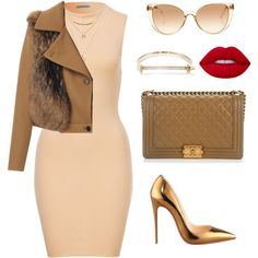 Untitled #648 by amoney-1 on Polyvore featuring MSGM, Chanel, MIANSAI, Epitome Jewellery, Lime Crime, Christian Louboutin and Linda Farrow