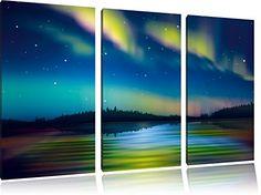 Northern Lights in Alaska 3-piece Canvas Art 120x80 cm im... https://www.amazon.co.uk/dp/B00Q6YWMQO/ref=cm_sw_r_pi_dp_x_uhTsybXBCJ2GT