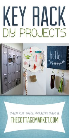 Key Rack DIY Projects - The Cottage Market