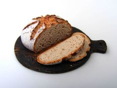 Ale bread - Miniature in 1:12 by Erzsébet Bodzás, IGMA Artisan