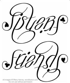 Sisters/Friends