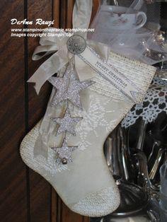 vintage victorian stocking - LOVE IT