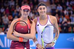 2015 Engie Open Limoges Finalists: Louisa Chirico and Caroline Garcia -EngieOpenLimoges