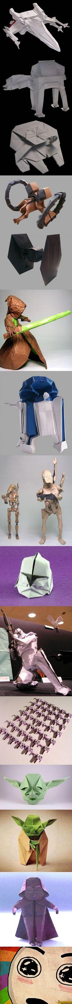Star Wars Origami -                                                                                                                                                                                 Más