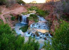 adventure-inspired: Hiking to Havasu Falls: The Grand Canyon's Hidden Paradise