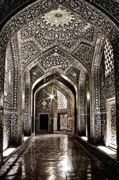 This mosque in Iran is STUNNING!