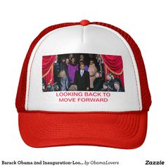 59d0dea51cc Barack Obama 2nd Inauguration-Looking Back Hat Wear this hat to show your  support for