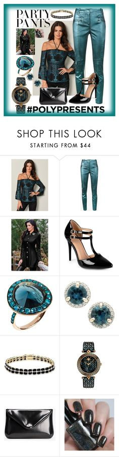 """""""#PolyPresents: Fancy Pants"""" by aurorasblueheaven ❤ liked on Polyvore featuring Venus, Sies Marjan, Journee Collection, Annoushka, Dolce Giavonna, Versace, Maison Margiela, contestentry and polyPresents"""