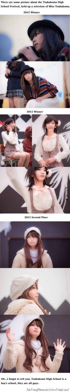 Meanwhile in Japan?? . . . O_O