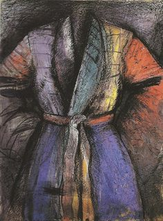 The Robe in France - Jim Dine  http://dld.bz/dXANw  #printmaking #popart #fineart