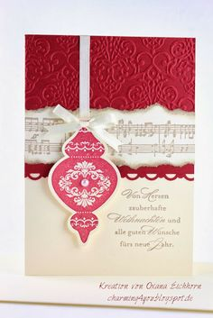 Charming4you: Weihnachtskarten, Christmas card
