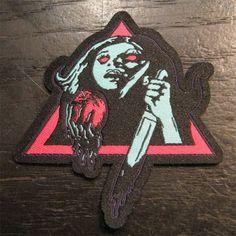 UNCLE ACID & THE DEADBEATS 刺繍ワッペン POISON APPLE