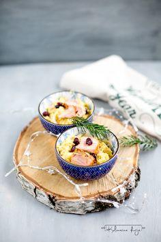 kapusta curry z łososiem na Boże Narodzenie i nie tylko. Przepis pochodzi z warsztatów z Lidlem i Karolem Okrasą.