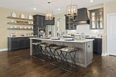 The Clearwater Kitchen, Drees Homes, Cincinnati and Northern Kentucky