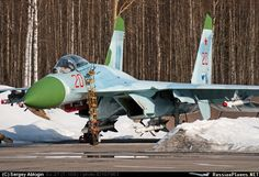 Heavily Armed Su-27 Flanker ☆ Russian Air Force Bomber Plane, Jet Plane, Air Fighter, Fighter Jets, Russian Military Aircraft, Russian Fighter, Russian Plane, Russian Air Force, Military Jets