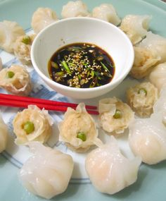 beautiful food, chili paste, dipping sauce. chinese, easy recipes, ethnic recipes, garlic paste, great taste, hans sussers food, har gow, rice wine vinegar, scallion, Sesame, sesame seeds, siew mai, Soy sauce, sugar, tasty, Tsing Tao.    See all pic's and recipe at : www.ChefsOpinion.org